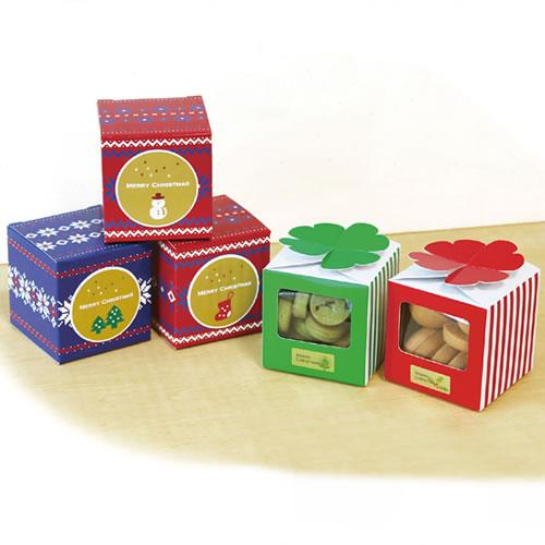 クッキーのクリスマスプチギフトパッケージ