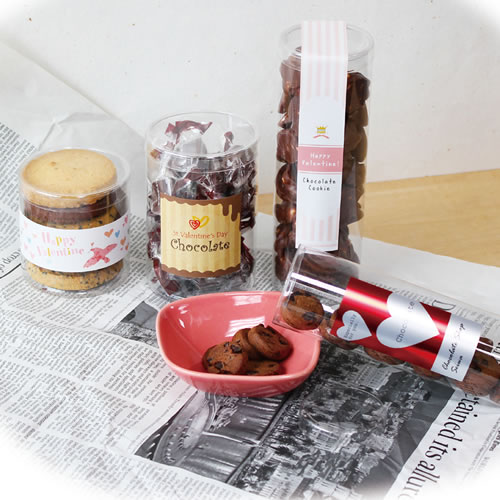 かわいいな洋菓子のバレンタインラッピング