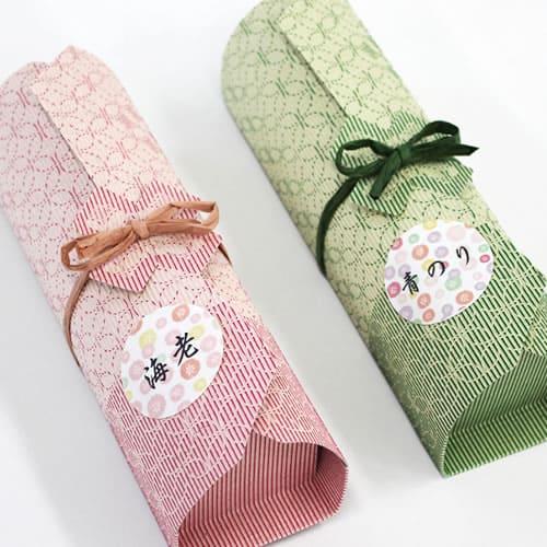 和風な和菓子のプチギフト
