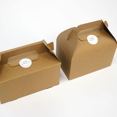 ケーキ箱 手さげ クラフトボックス